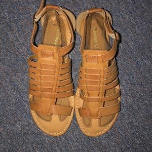 Brand New Bamboo Sandals. Size 6
